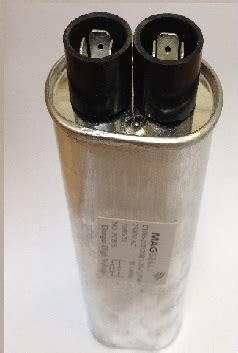 discharge hv capacitor mscp609 1 10uf 2500vac magsells microwave oven parts