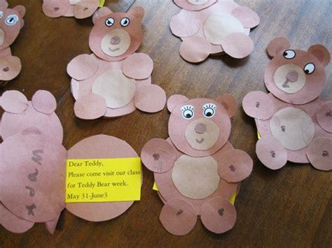 teddy crafts for teddy week