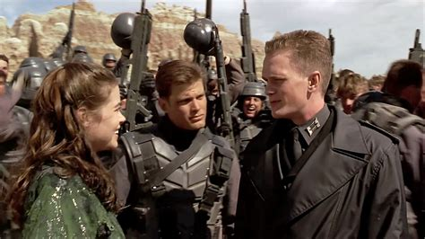 film fondue your new spider man and starship troopers tv show