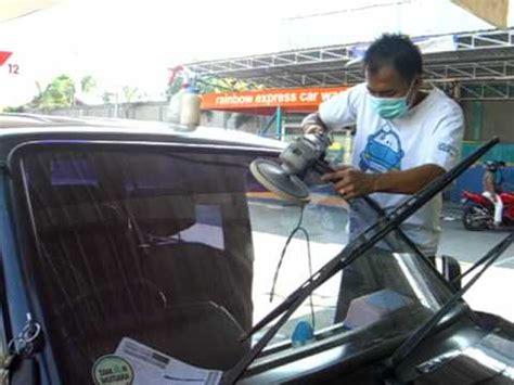 Sign Board Tempelan Kaca Mobil 4 window and windshield care poles kaca mobil dengan mesin