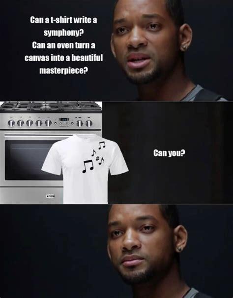 I Robot Meme - can a robot write a symphony know your meme