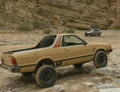 brat car lifted 448 best subaru truck baja brat images on