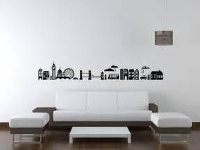 London Skyline Wall Sticker London Skyline Wall Decal City Cityscape By Wallstargraphics