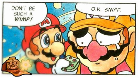 and wario wario and mario comic www imgkid the image kid has it
