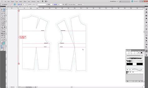 pattern cutting with adobe illustrator pattern cutting a basic bodice block ralph pink com