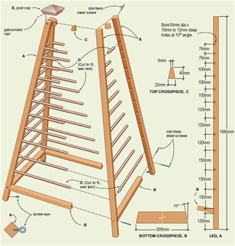 diy trellis plans wood garden obelisk trellis woodworking projects plans