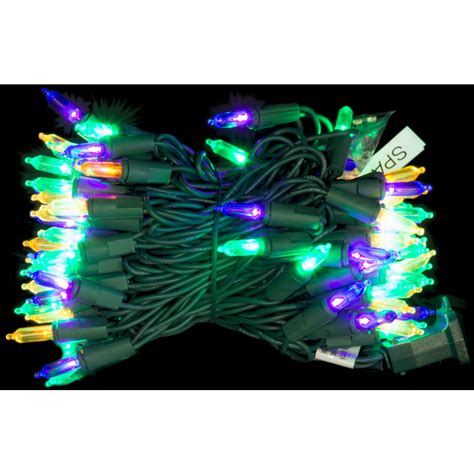 led mardi gras lights 80 light strand 08569