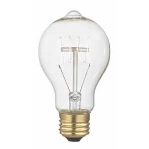 Light Bulb by Nostalgic Vintage Edison Carbon Filament Light Bulb 25