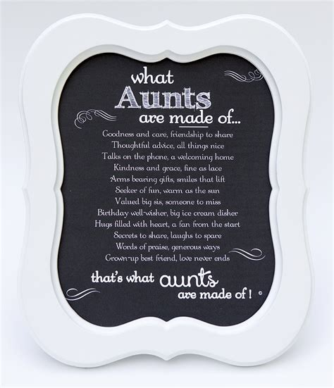 valentines day poems for aunts framed poem