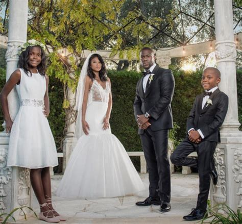 zan dlamini photos kevin hart s kids at wedding son daughter look
