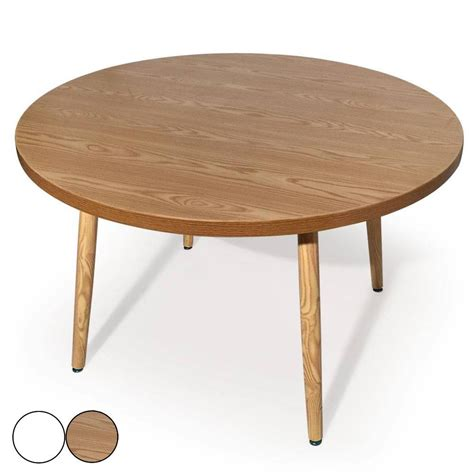 table salle a manger ronde table ronde bois extensible