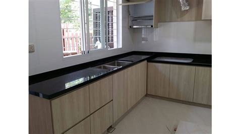 Black Kitchen Top by Black Galaxy Kitchen Top Way House Of Countertops