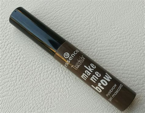 Mascara Me review eyebrow gel mascara essence make me brow 02 browny