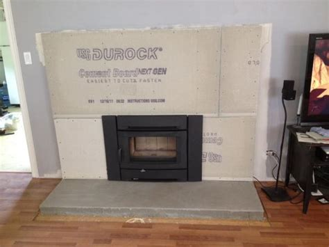 Fireplace Cement Board corners for cement board doityourself community forums