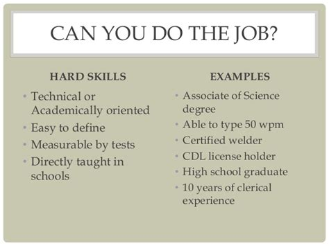 skills vs soft skills