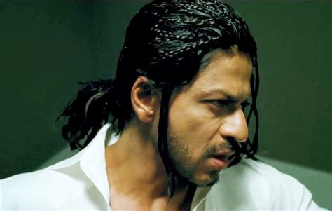 srks hairstyle in don2 shahrukh khan high for an actor to play a villains role