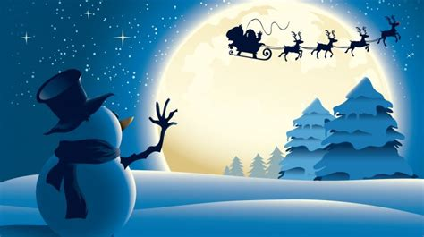 merry christmas santa   sky wallpapers hd   desktop hd wallpapers  pc