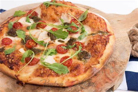 keuken liefde recepten pizza kip pesto keuken liefde