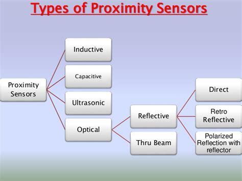 sensor type proximity sensors