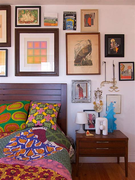 design sponge bedroom two artists make a gallery of their new york home design