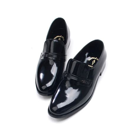 mens loafers rubber soles mens toe black cow leather rubber sole loafers