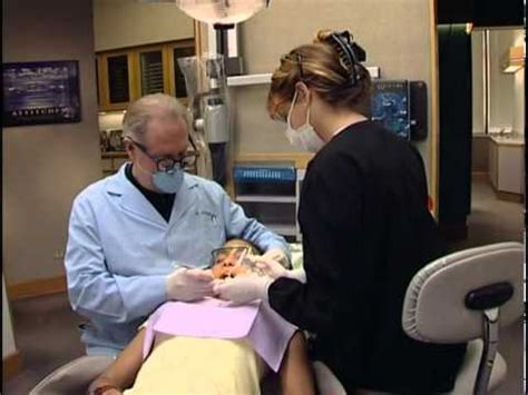 Dental Assistant Chair chair side dental assisting training video for dental