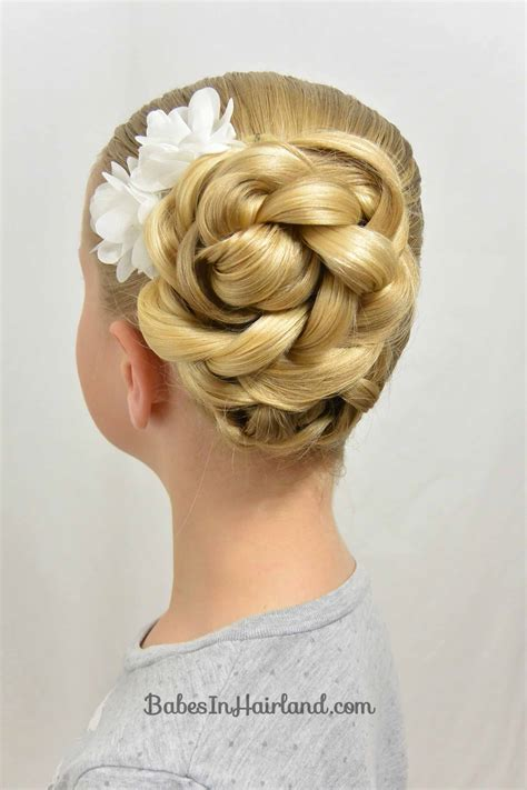 easy triple braided hairstyle babes in hairland easy easter updo and a hair trick babes in hairland