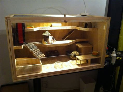 how to build a custom house build your own hamster cage photo guide babblepie