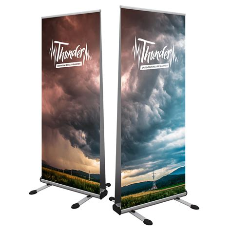 templates for roller banners thunder outdoor roller banner venture banners