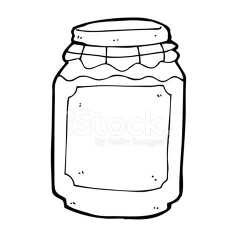 cartoon jar of jam stock vector freeimages.com
