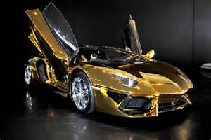 Gold Lamborghini Pictures Most Expensive Model Car In The World Alux