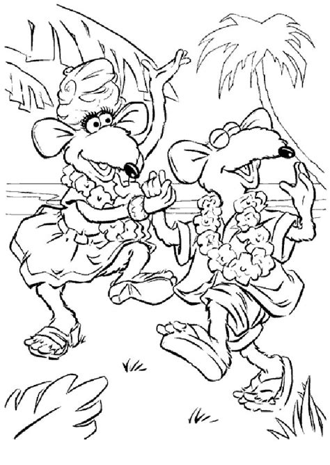 muppets coloring pages muppet show coloring pages coloringpages1001