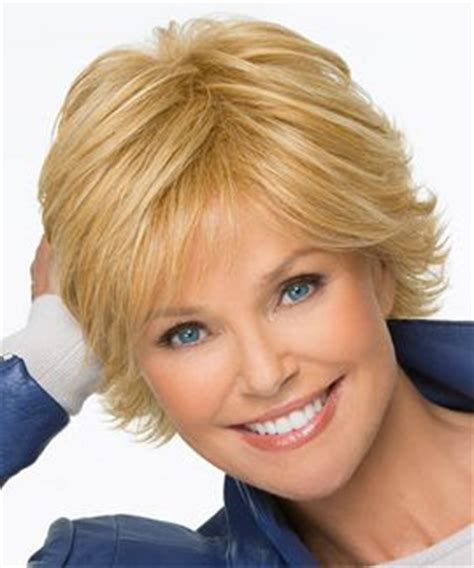 short flip for thin hair special by christie brinkley this short layered