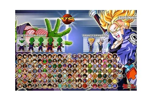 descargar gratis dragon ball z sagas 2011 mugen