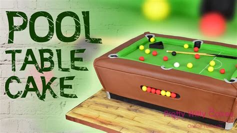 pool table cakes pool table cake cake decorating tutorials