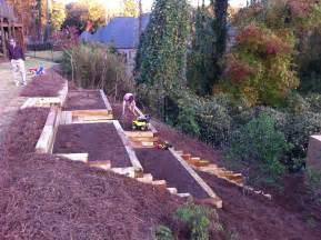 Backyard Ideas On A Hill Kati S Square Foot Gardening Plan Abundant Boxes My