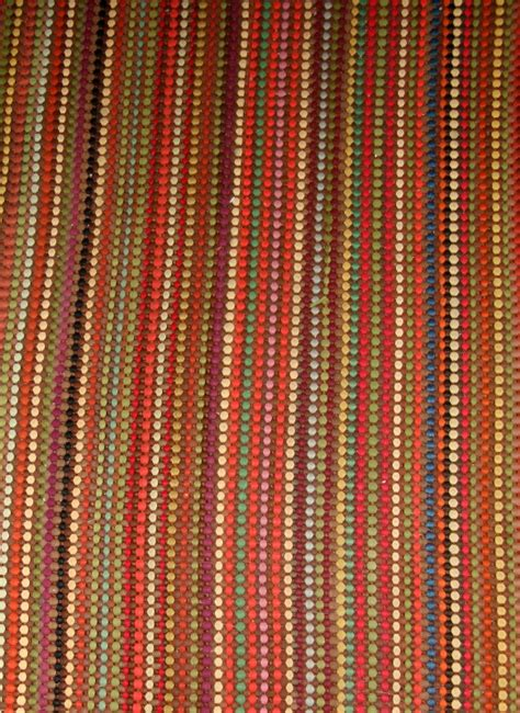 Small Bathroom Rug Woven With Multi Colored Nylon Strips Multi Colored Bathroom Rugs