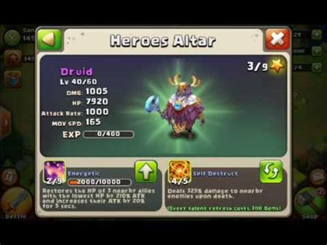 castle clash best heroes castle clash my top 100 arena heroes and talents m