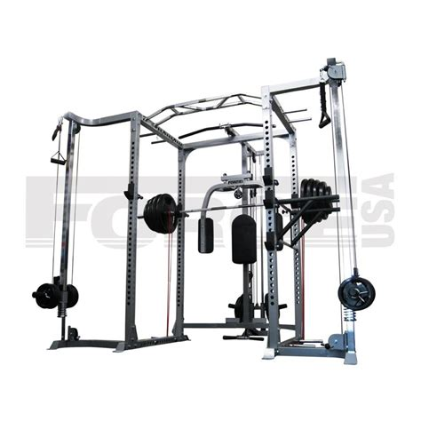 Rack Power by Usa Power Rack With Cable Cross The Fitness Equipment Professionals