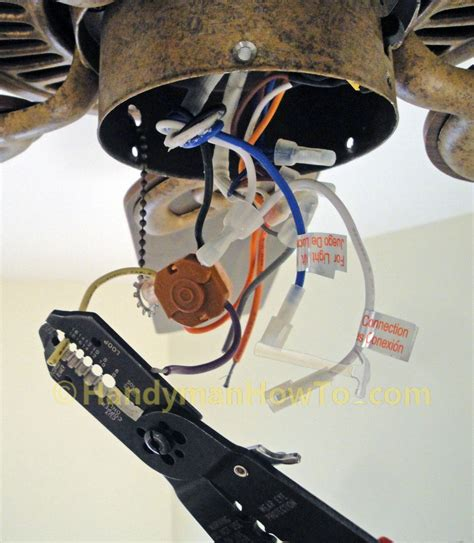 ceiling fan motor replacement how to replace a ceiling fan motor capacitor