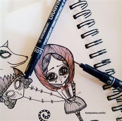 pen untuk doodle doodle oleh livia halim kompasiana