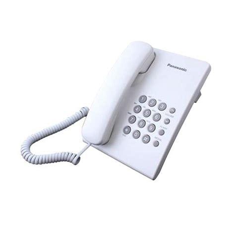 Panasonic Telepon Kx T7665 Putih jual panasonic kx ts500mx single line telepon putih