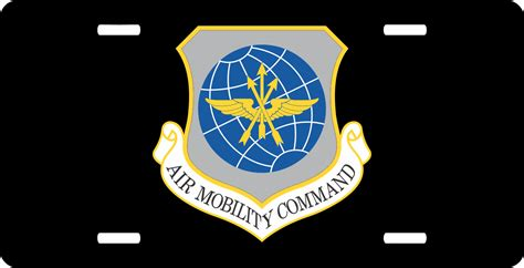 air force mobility command u s air force air mobility command license plate