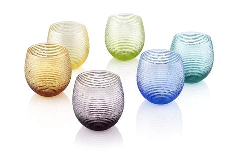 bicchieri di vetro colorati bicchieri colorati idee per apparecchiare la tavola