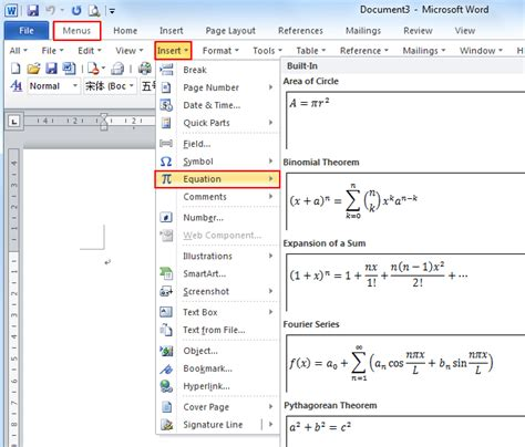 Change The Selected Table To Table Classic 2 Style Where Is The Equation In Microsoft Word 2007 2010 2013 And 2016