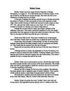 Teresa Essay by Essay Theresa