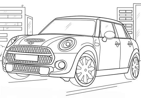 Mini Auto F R Erwachsene by Ausmalbilder Mini Cooper Zum Ausdrucken Kostenlos F 252 R