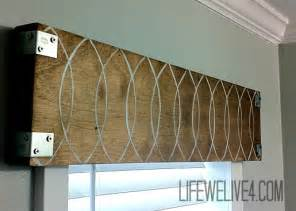 Wood Window Valance Ideas be different act normal 8 great diy valance ideas