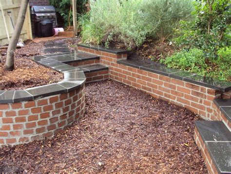 pictures of garden retaining walls retaining walls garden effects landscaping mornington