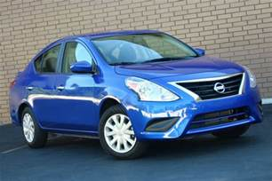 cheap new nissan cars the least expensive new cars